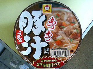 マルちゃん豚汁ウドン1.JPG